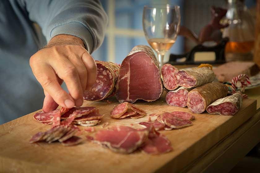 Mėsos degustacija